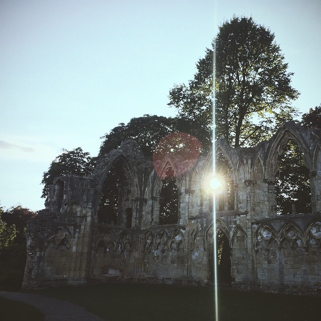 St. Mary's Abbey in the Yorkshire Museum Gardens